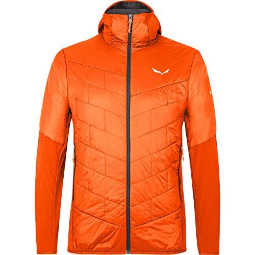 SALEWA Sternai Tirol Wool, Giacca Uomo, Red Orange/0910, 50/L