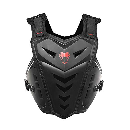 HEROBIKER Motorcycle Armor Vest Motocross Riding Chest Back ProtectorRacing Vest