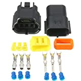 "Ils â€"" Waterproof 3 Pin Way Wire Connectors Terminals for Motorcycle Electrical Car"