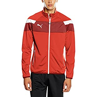 Puma Spirit II Men's Woven Jacket Red red-White SizeM