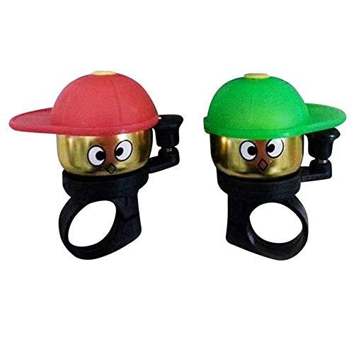ZEELIY Kinder Fahrradklingel süße Fahrrad Radfahren Glocke Mini Glocke Kleiner Junge Ring Glocke Fahrrad Cup Horn