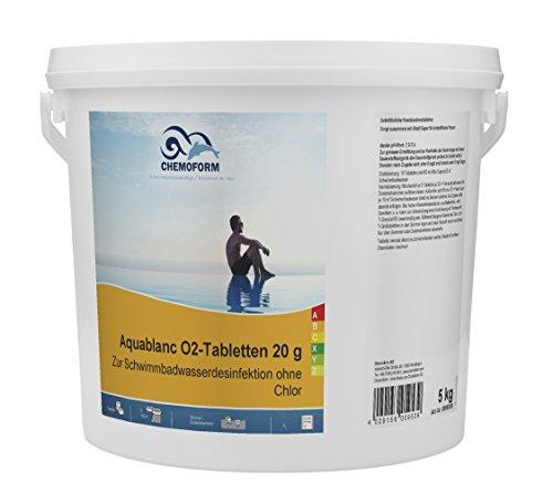 Chemoform 5Kg Aquablanc O² Tabs 20Gr.