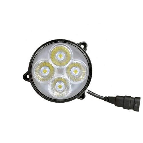 40 W 3400LM - Faro de trabajo redondo EMC OEM 12 V 24 V LED marco de montaje tractor