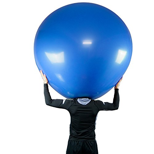 6ft/72 Inch Latex Climb in Balloon(180cm), Blue
