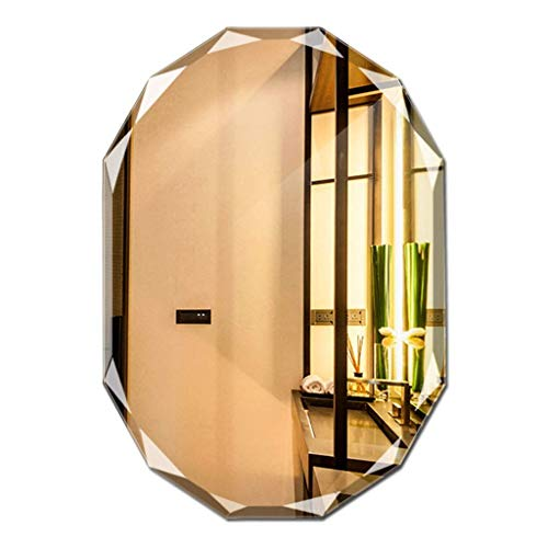 ZHAOJYZ Household Necessities/badkamerspiegel zonder lijst diamant spiegel badkamerspiegel design badkamerspiegel