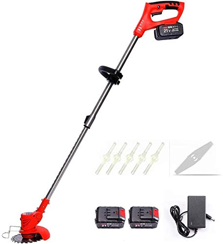 Best Prices! REWD Electric Brushcutter Handheld Weed String Cutter Gardening Decoration Tool with De...