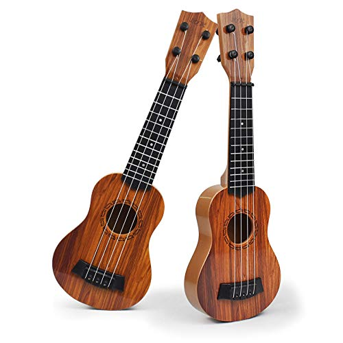 Infinite Kids Guitar ukeleles Musical Kids Instruments(Peach Blossom) ,Educational Toy for Toddlers