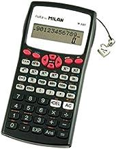 Milan 159110RBL - Calculadora científica, 240 funciones, color roja
