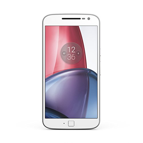 Moto G Plus (4th Gen.) Unlocked - White - 64GB - U.S. Warranty
