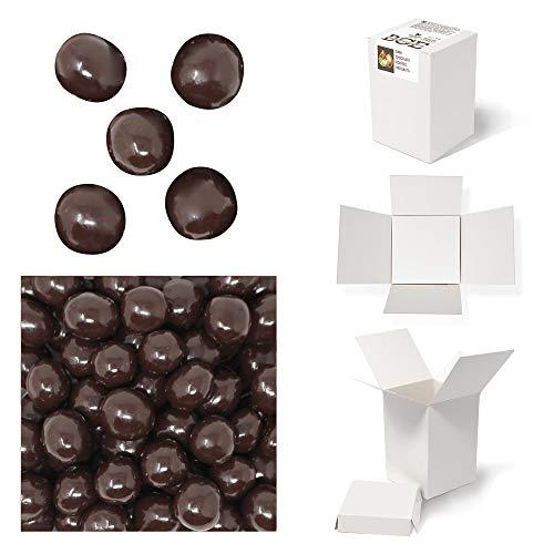 Bulk Gourmet Emporium - Geröstete Haselnüsse in dunkler Schokolade, kunststofffrei, vegetarisch und halalfreundlich, Nüsse mit Schokoladenüberzug, 480 g