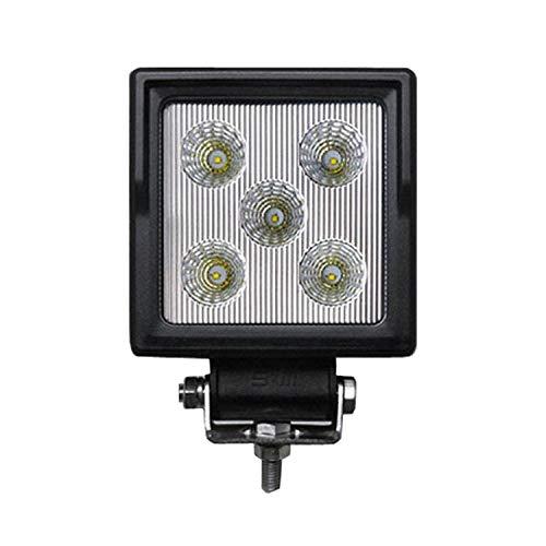 15W LED de luz de trabajo cuadrado Off-road LED lámpara de conducción Spot Light IP67 luces impermeables para ATV UTV SUV Jeep barco 2pcs
