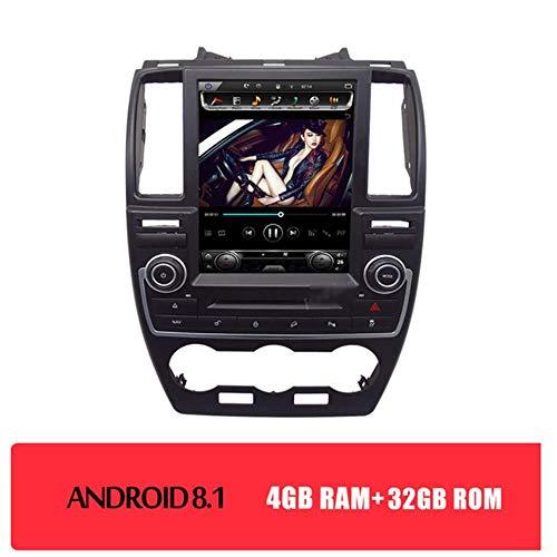 NAV Auto Play Mirrorlink Auto-DVD-Radio - Anwendbar für Land Rover Freelander 2 (2007-2015) Android Stereo 10,4 Zoll 2 Din GPS Navigation