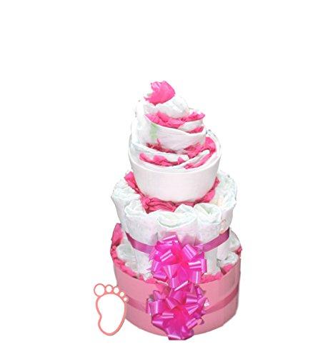 Windeltorte Mädchen | Girls Cake