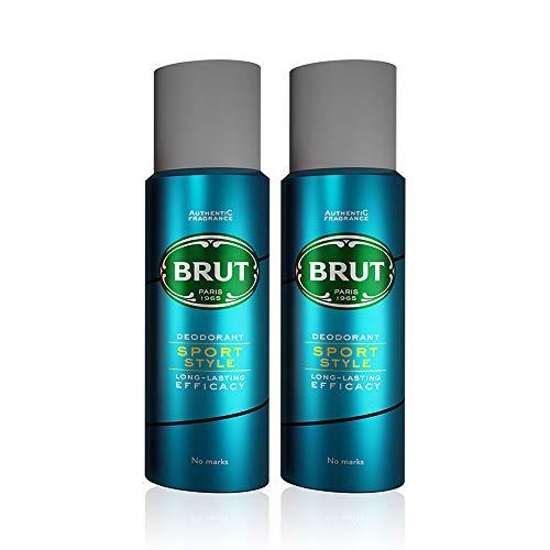 BRUT Sport Style Men Deodorant, 200ml (Pack of 2)