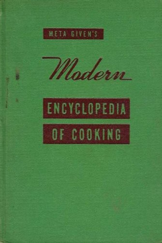 Meta Given's Modern Encyclopedia of Cooking (Vol 1 Only)