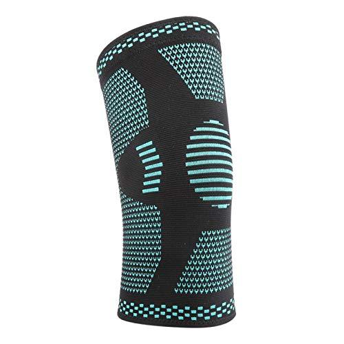 DAUERHAFT Atmungsaktive Kniestütze Hochelastische Nylon-Kniebandage zum Laufen(L)
