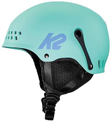 K2 Skis Damen Entity Seafoam Skihelm, grün, XS