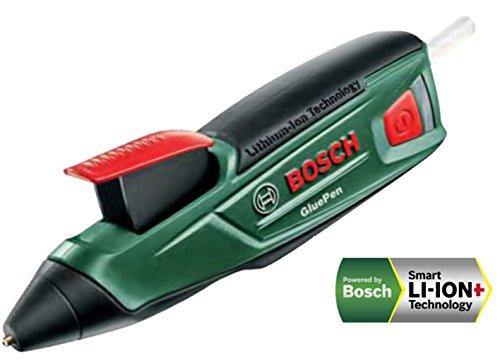 ボッシュ(BOSCH)コードレスグルーガン(グルースティッククリア4本標準付属・充電器付)GLUEPEN
