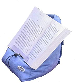 The Book Seat - Book Holder and Travel Pillow - Blue