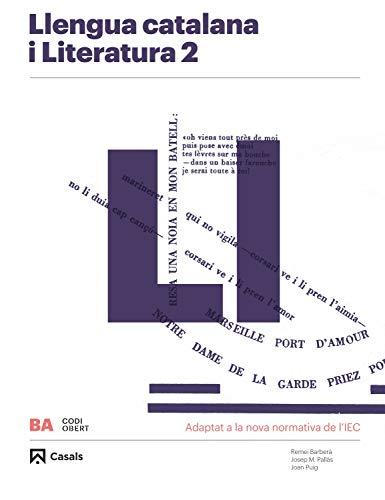 Llengua Catalana I Literatura 2 Ba 2020 (Codi obert)
