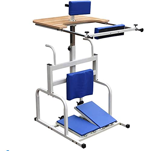HIGHKAS Bipedestador para discapacitados de Miembros Inferiores, Bipedestador para Entrenamiento de rehabilitación de Miembros Inferiores para discapacitados con parálisis Cerebral/discapacida