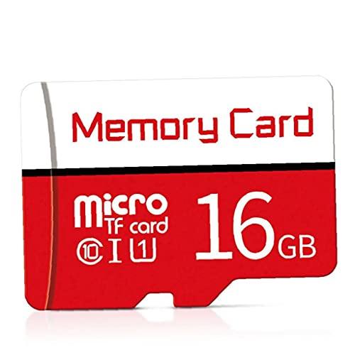 Tuimiyisou Tarjeta Micro SD SDXC Clase 10 de Alta Velocidad Tarjetas de Memoria con un diseño Libre de la Tarjeta SD de 16 GB Atapter humanizado