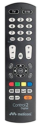 Meliconi CONTROL 2 DIGITAL Telecomando Universale 2 in...