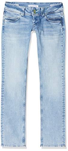 Pepe Jeans Damen Venus Straight Jeans, Blau (000Denim 000), 32W / 34L