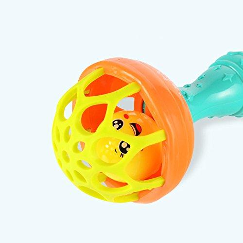 Hemore Hochet bébé jouet Boule shakers Jouets pour bébés Hochets Dentition bébé d'haltères à...