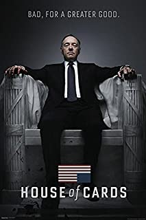Póster House of Cards/Casa de Cartas Bad, For a Greater Good (61cm x 91,5cm) + 1 póster Sorpresa de Regalo