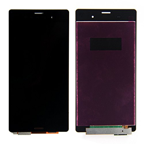 NG-Mobile Original Sony Xperia Z3 D6603 Displaymodul Display LCD Flex Kabel Leitung - schwarz