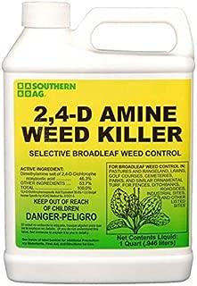 Albaugh, LLC 2;4-D Amine 4 - Herbicide - Active Dimethylamine salt of 2,4-D 46.5% - 1 Quart by Growers Solution