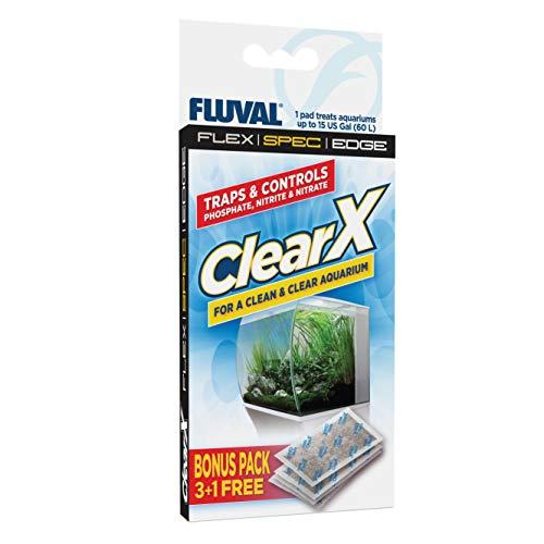 Fluval A1336 Clear X Filter Kissen 4er Pack