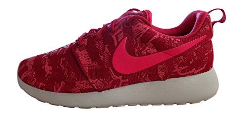 Nike Women's Roshe One Print Running Shoes, Pink, uk 4.5 us 7 eu 38