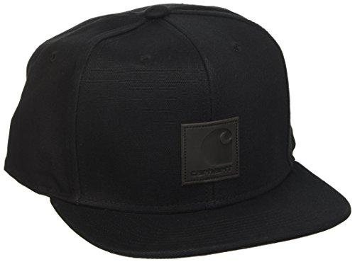 Carhartt Herren Logo Cap (6 Minimum) Baskenmütze, Schwarz (Black 89.00), One Size