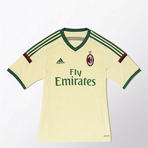 adidas Herren Trikot AC Mailand Replica Spieler-Ausweich, Pearl Citrine S14/Amazon Green S14, M