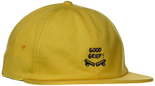 Vans_Apparel Vans X Jockey Gorra de béisbol, Negro (Charlie Brown/Peanuts), Talla única (Talla del Fabricante: OS) para Hombre