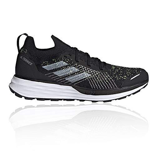 adidas Terrex Two PRIMEBLUE, Zapatillas de Trail Running Hombre, NEGBÁS/FTWBLA/Amasol, 39 1/3 EU