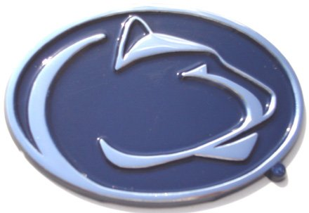 Penn State University Nittany Lions NCAA College Color and Chrome Plated Premium Metal Car Truck Motorcycle Emblem