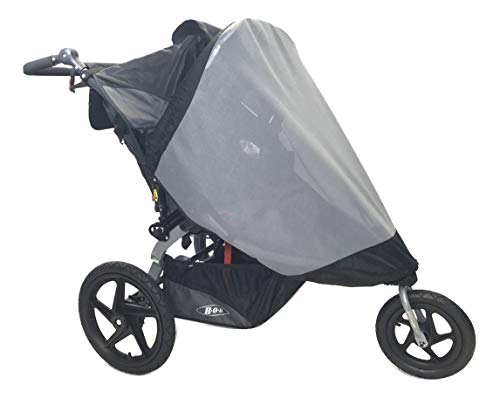 Sashas'See Me See You Series' Sun Wind and Insect Cover for Bob Revolution Flex Duallie Jogging Stroller