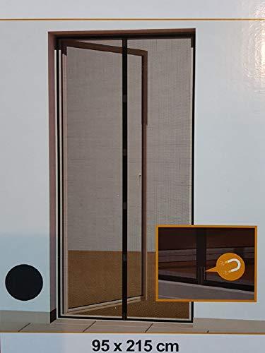 Hornbach - Cortina magnética para mosquitos (95 x 215 cm), color gris