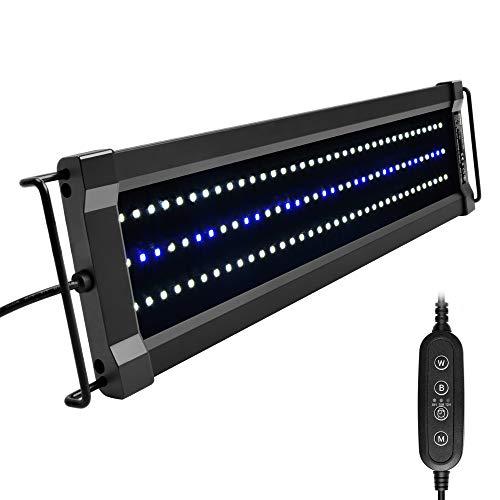 NICREW ClassicLED G2 Luz LED Acuario, Iluminación LED para Acuarios,