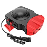 Portable Car Heater,12v Auto Heater Fan,Fast Heating Car Windshield Defrost Defogger