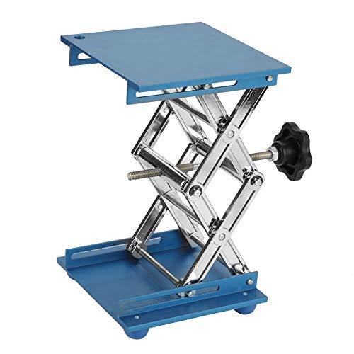 Soporte de plataforma elevadora de laboratorio de óxido de aluminio, estantería para tijeras, 150150250 mm