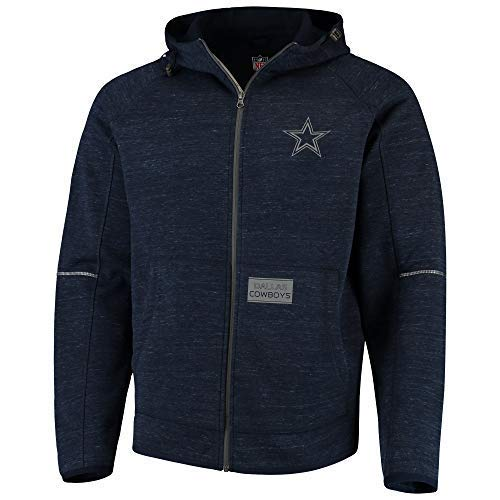 Dallas Cowboys Transitional hooed Jacket Navy, Small