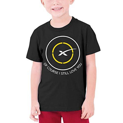VJSDIUD, por Supuesto, todavía te Amo Space X, Camiseta Unisex para jóvenes, Camiseta de algodón cómoda y Transpirable para niños y niñas