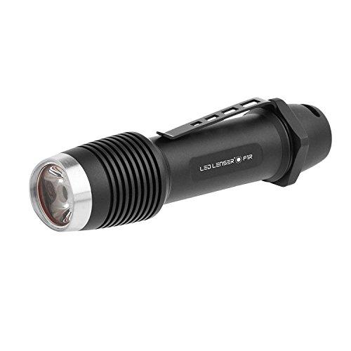 LED Lenser - F1R Rechargeable Flashlight, Black (FFP)