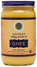 Organic Original Grass-fed Ghee, Butter by ANCIENT ORGANICS, 32 oz., Pasture Raised, Non GMO, Lactose - Casein - Gluten FR...