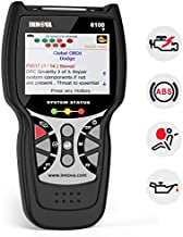 INNOVA 6100 Plus OBD2 Scanner ABS SRS Airbag Warning Light Scan Tool with Battery Alternator Test Service, Professional Mechanic OBDII Diagnostic Code Reader Tool for Check Engine Light