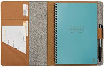 Moonsafari A4 Reusable Notebook Cover Rocketbook Cover Smart Business Notebook Cover for Everlast product image